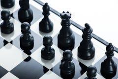 Full armé för schack Fotografering för Bildbyråer