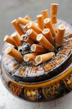Full ashtray Stock Images