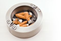 Full ashtray Stock Photography