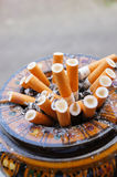 Full ashtray Royalty Free Stock Photos