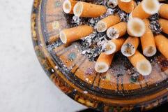 Full ashtray Stock Image