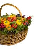 Full av grönsaker Royaltyfri Fotografi