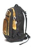 Full backpack closeup Stock Photo