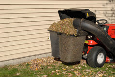 Full bagger mower Royalty Free Stock Image