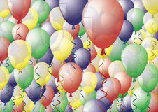 Full of balloons Royalty Free Stock Photos
