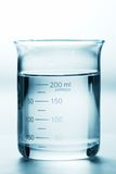 Full Beaker. A Beaker filled with a liquid Royalty Free Stock Image