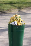 Full bin Royalty Free Stock Image