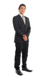 Full body Asian businessman portrait Stock Photo