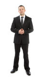 Full body business man Stock Photos