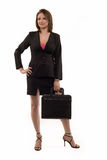 Full body of business woman Royalty Free Stock Photo