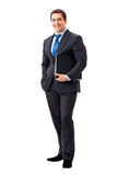 Full-body of businessman Royalty Free Stock Photo