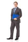 Full body businessman Stock Image