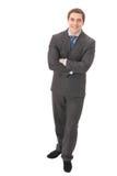 Full body businessman Stock Images