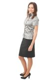 Full body businesswoman Royalty Free Stock Photos