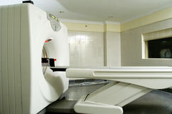 Full body CT scanner in hospital Royalty Free Stock Photos