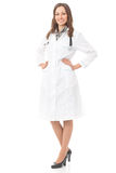 Full body female doctor Royalty Free Stock Images