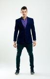 Full body of a handsome young man Royalty Free Stock Image