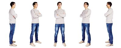 Full body man royalty free stock image