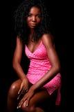 Full body in pink. Girl in pink dress full body stock photos