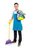 Male cleaning service Royalty Free Stock Photography