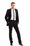Full body portrait of young business man Royalty Free Stock Photo