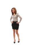 Full body shot of a businesswoman Royalty Free Stock Photos