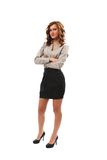 Full body shot of a businesswoman Stock Photo