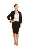 Full body shot of businesswoman Royalty Free Stock Images