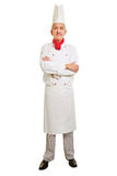 Full body shot of chef cook Stock Image