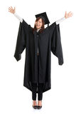 Full body university student. Royalty Free Stock Images