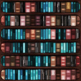Full bookshelf Stock Photo
