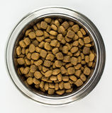Full Bowl of Dogfood Royalty Free Stock Images