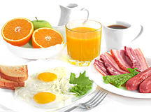 Full breakfast. Royalty Free Stock Image