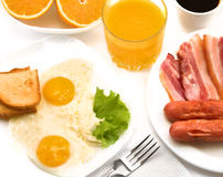 Full breakfast. Royalty Free Stock Images