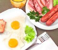 Full breakfast. Stock Photography