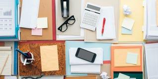 Full business desktop Stock Photography
