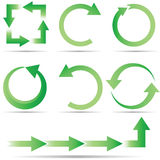 Full Circle Ecology vector illustration