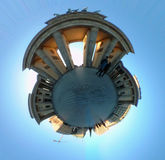 Full circle panorama: Brandenburg Gate Stock Photos
