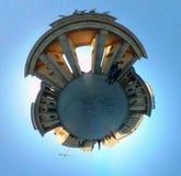 Full circle panorama: Brandenburg Gate Stock Photos