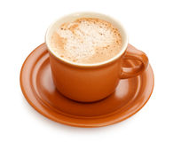 Full Coffee Cup Stock Photography