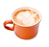 Full Coffee Cup Stock Image