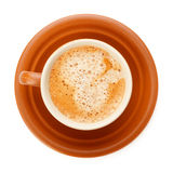 Full Coffee Cup Royalty Free Stock Photography