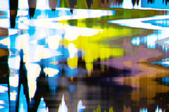 Full color abstract texture glitch background stock photography