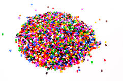 Full Color Beads Royalty Free Stock Photography