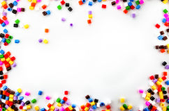 Full Color Beads Stock Photography