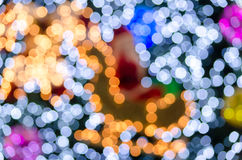 Full color bokeh Royalty Free Stock Images