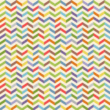 Full color seamless geometric pattern with zigzags Stock Photo