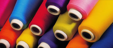 Full Color Thread Royalty Free Stock Photo
