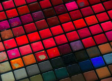 Full of colors. Beautiful colors for your face and life Royalty Free Stock Photos