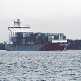 Full container ship Royalty Free Stock Photos